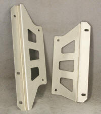 Drag Radiator Mounting Brackets, drag racing radiator, custom aluminum radiator