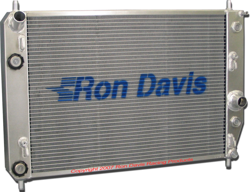 B.C. BRONCOS - EARLY BRONCO RADIATORS - RON DAVIS - PRODUCTS NEW