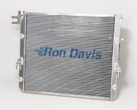 2007-2014 Jeep Wrangler 5.7 JK Hemi Conversion Radiator; custom aluminum radiator; racing radiator