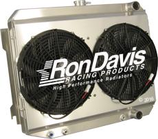 aluminum radiator picture gallery from Ron Davis aluminum radiators