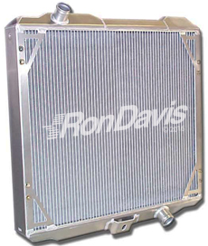 aluminum radiator picture gallery from Ron Davis aluminum radiators