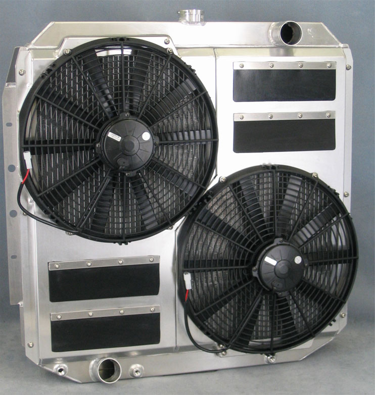 Custom Built Aluminum Radiators - Ron Davis Racing Products